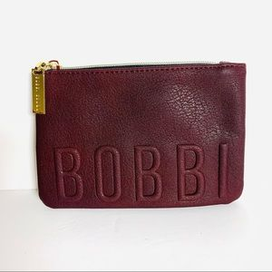 Bobbi Brown Cosmetic Bag Maroon NWOT